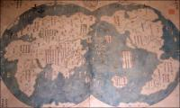 1763 Chinese Map Claims to be copy of 1418 Map